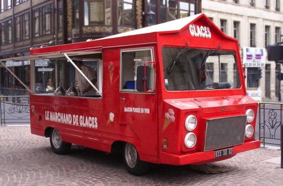 Préférence Marchand de Glaces Ambulant Martinez – Louez chariots et camions à  YH77